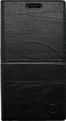 Mobilnet Luxury knížkové pouzdro pro iPhone 7, černé