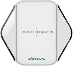 Nillkin Magic Cube Fast Charge bezdrátová nabíječka, bílá