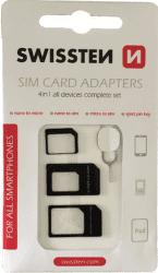 Swissten 4v1 SIM adaptéry