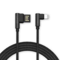 Golf GC-48i  Lightning kabel 2,4A 1m, černá