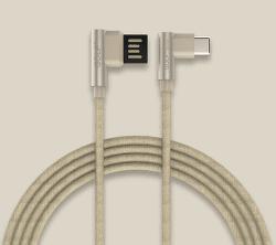 Golf GC-48c USB-C kabel 2,4A 1m, zlatá