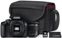 Canon EOS 4000D + 18-55mm DC III Value Up Kit