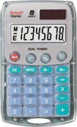 Rebell RE-Starlet BX kapesní kalkulačka transparentní