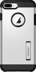 Spigen Tough Armor 2 pouzdro pro Apple iPhone 7+/8+, stříbrné