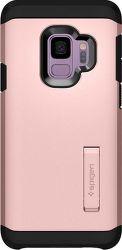 Spigen Tough Armor pouzdro pro Samsung Galaxy S9, rose gold