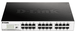 D-Link DGS-1024D - 1Gb 24-LAN switch