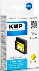 KMP F6U18AE yellow, inkoust