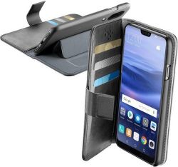 Cellularline Book Agenda pouzdro pro Huawei P20 Lite, černé