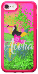 Cellularline Stardust gelové pouzdro pro iPhone 8/7/6, Aloha