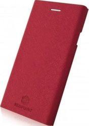 Redpoint Roll Magnetic pouzdro pro Huawei P20 Lite, červené