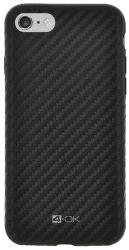 4-OK Pure Material pouzdro pro Apple iPhone 6/6S carbon, černé