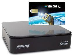 Antik Nano 3S set-top box s archívom + karta AntikSAT vystavený kus splnou zárukou