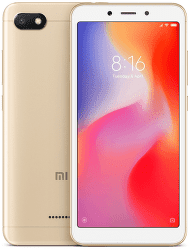 Xiaomi Redmi 6A 16 GB zlatý