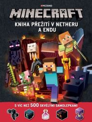 Minecraft - Kniha přežití v Netheru a Endu