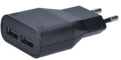 Solight DC48 černý, USB nabíjecí adaptér