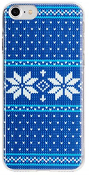 Flavr Ugly Xmas Sweater pouzdro pro iPhone 8/7/6S/6, modré