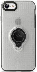 Puro zadni kryt Magnet Ring pro Apple iPhone 8/7, transparentní
