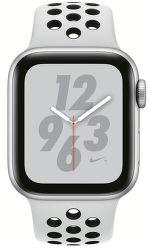 Apple Watch Series 4 Nike+ 40mm stříbrný hliník/platinový sportovní řemínek Nike vystavený kus splnou zárukou