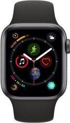 Apple Watch Series 4 40mm vesmírně šedý hliník/sportovní černý řemínek