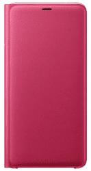 Samsung Wallet Case knížkové pouzdro pro Samsung Galaxy A9 2018, růžová