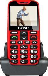 Evolveo EasyPhone XD červený