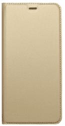 Mobilnet knížkové pouzdro pro Samsung Galaxy A8 2018, zlatá