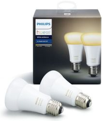 Philips Hue White Ambiance E27 9.5W A60 2ks