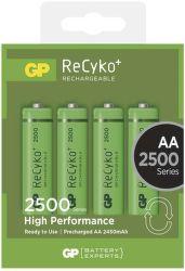 GP ReCyko+  HR6 (AA) 2500 mAh, 4 ks
