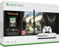 Microsoft Xbox One S 1 TB + Tom Clancy's The Division 2