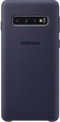 Samsung silikonové pouzdro pro Samsung Galaxy S10, tmavomodrá