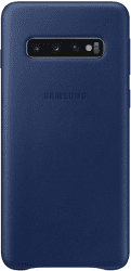 Samsung Leather Cover pro Samsung Galaxy S10, tmavomodrá