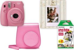 Fujifilm Instax Mini 9 Big Box růžový
