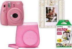 Fujifilm Instax Mini 9 Big Box růžový
