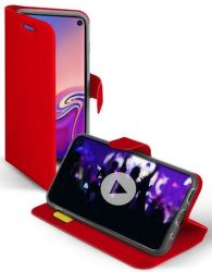 SBS Book Sense pouzdro pro Samsung Galaxy S10, červená