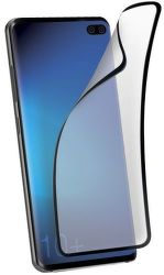 SBS Flexi ochranní sklo pro Samsung Galaxy S10+, černá