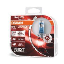 OSRAM H4 Night Breaker Laser, Autožárovka 12 V/60 W