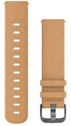 Garmin Quick Release 20mm semišový řemínek hnědý