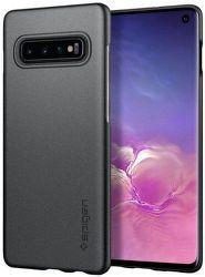 Spigen Thin Fit pouzdro pro Samsung Galaxy S10, šedá
