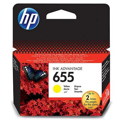 HP CZ112AE YELLOW náplň No.655 Blister
