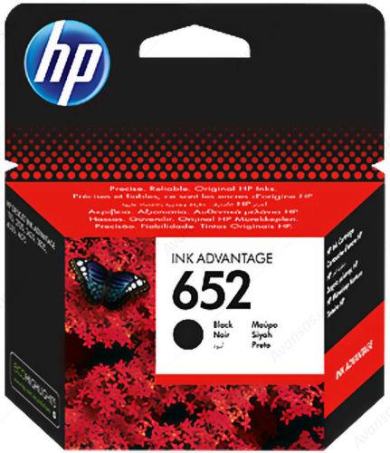 HP F6V25AE No.652 (black) - inkoust