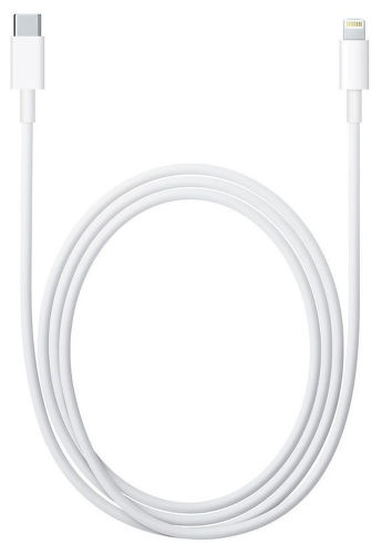 Apple MK0X2ZM/A Lightning - USB-C kabel 1m, bílá