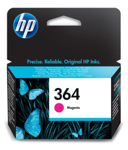 HP CB319EE No.364 magenta - atrament