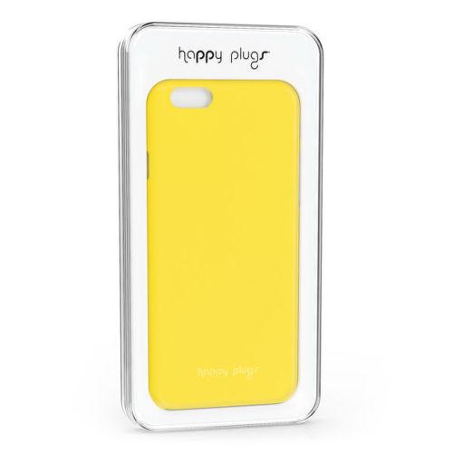 Happy Plugs Ultra Thin iPh6 Plus Yellow, Obal na mobilný telefón