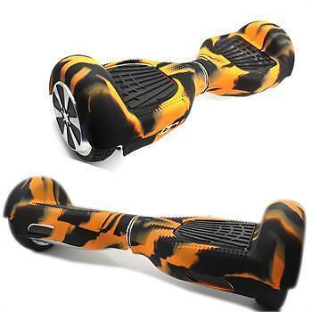 BSMART návlek na hoverboard (oranžovo-černý)