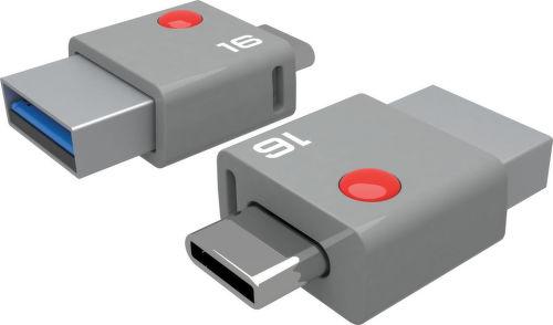 EMTEC DUO USBC T400 16GB, USB kľúč