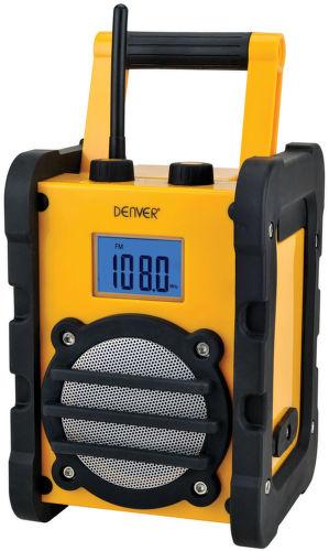 DENVER WR-40, Odolné rádio