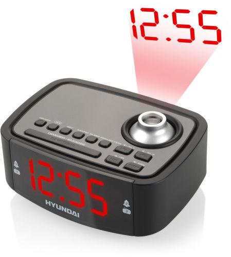 Hyundai RAC 201 PLL BR - rádiobudík (černý)