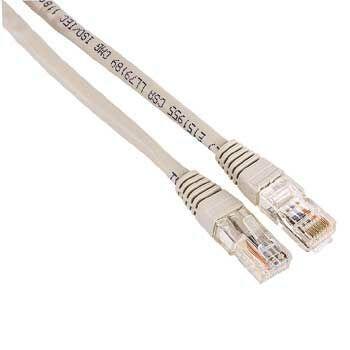 Hama 30625 síťový patch kabel, 2xRJ45, UTP, nebalený, 30 m