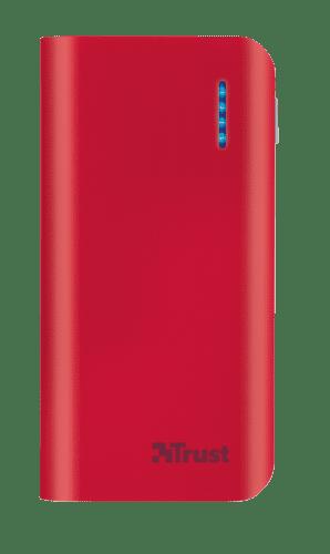 Trust Primo powerbanka 4400 mAh, červená