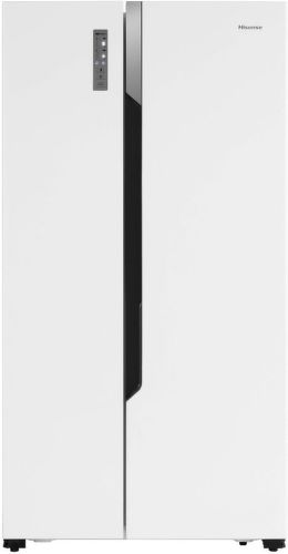 Hisense RS670N4HW1, bílá americká chladnička